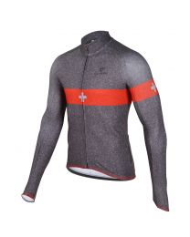 Men's S-Cross Silver L/Sleeve Thermal Jersey