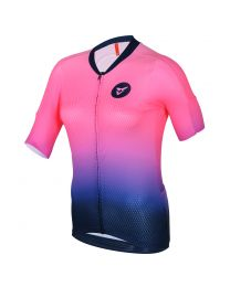 Women's 30th Fade Gold S/Sleeve Comp Jersey (Arm+4cm)